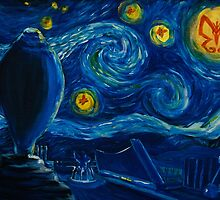Venture Bros. Starry Night by BixbyPlanet