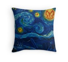 Venture Bros. Starry Night Throw Pillow