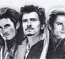 The Many Faces of Orlando Bloom by Rotae