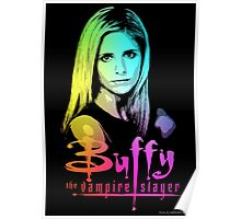 Buffy Multicolored  Poster