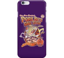 Pork butts and taters iPhone Case/Skin