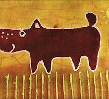Brown dog by maystra