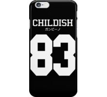 Childish ガンビーノ Jersey iPhone Case/Skin
