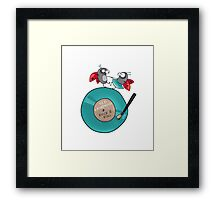 Rock'n'roll ladybirds Framed Print
