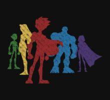 Teen Titans  by drunkenwhaler