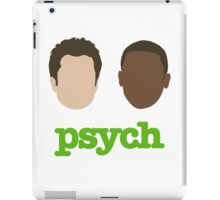 Faces of Psych iPad Case/Skin