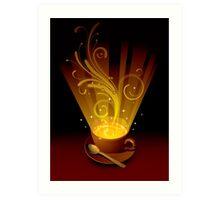 Magic cup Art Print