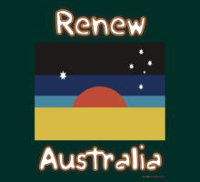 Renew Australia - New Flag Design by muz2142
