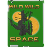 Wild Wild Space Bounty Hunter iPad Case/Skin