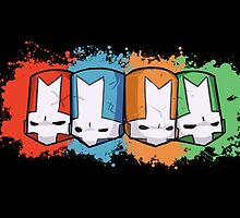 Castle Crashers Team by bananaclan