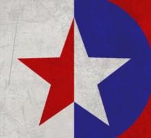 Cap and Bucky Sticker
