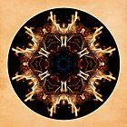 Spirit Rekindled Mandala by Gail S. Haile
