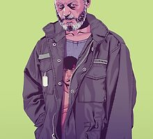 GAME OF THRONES 80/90s ERA CHARACTERS - Davos Seaworth by GOT80-90