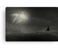 Caught in a dream Canvas Print