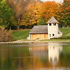 Autumn Reflections at Backbone State Park by lorilee