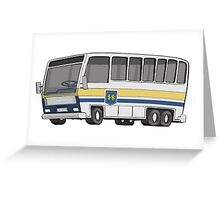 Hamilton Street Railway Bus Greeting Card