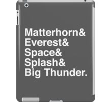 Disney Mountaineer iPad Case/Skin