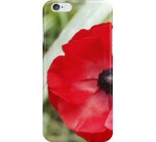 Lonely Poppy iPhone Case/Skin