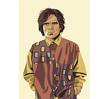 GAME OF THRONES 80/90s ERA CHARACTERS - Tyrion Lannister Photographic Print