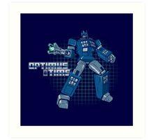 Optimus Time Art Print