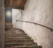 Orb at the Top of the Stairs by BrookeRyanPhoto