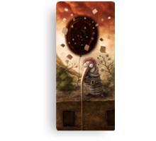 I`ve got black hole Canvas Print
