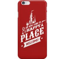 Magic Kingdom - Walt's Happy Place iPhone Case/Skin