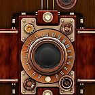 Steampunk Camera No.1A phone cases by Steve Crompton