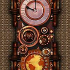 Infernal Steampunk Timepiece for iPhone by Steve Crompton