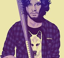GAME OF THRONES 80/90s ERA CHARACTERS - Jon Snow by GOT80-90