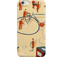 Bicycle building iPhone Case/Skin