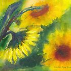 Sunflowers Board Meeting by BAR-ART
