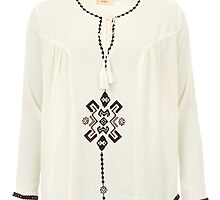Daphne Ethnic Smock Top by irishfashion