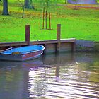 Rowboat in Autumn by Timothy  Ruf