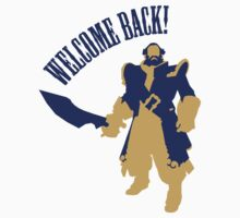 kunkka shirt dota2 welcome back by T J B