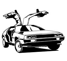 Delorean by monsterdesign