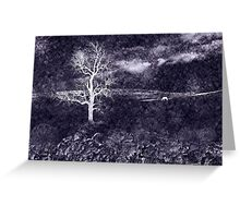 White Horse Hill Greeting Card