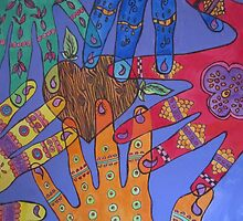 Helping Hands by TIART