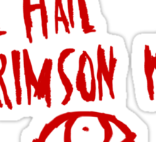 The Crimson King Sticker