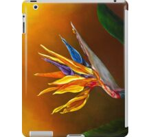 Bird of Paradise flower iPad Case/Skin
