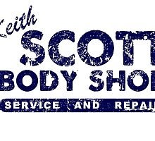Keith Scott Body Shop Logo by quinnwentz777