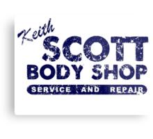 Keith Scott Body Shop Logo Metal Print
