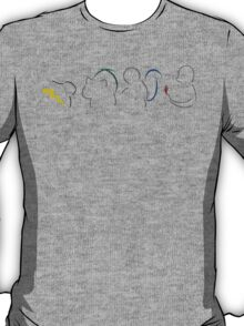 Starters Silhouette Black T-Shirt