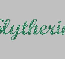 One word - Slytherin by husavendaczek
