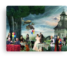 Stephen Hawking's Party Canvas Print