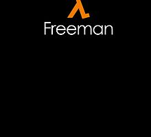 Freeman by monsterdesign