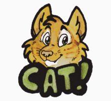 Cat! Sticker by djinni