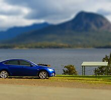 My 'model' car - tilt-shifted by PhotosByG