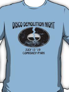 Disco Demolition Night - Black T-Shirt