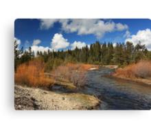 North Fork Deer Creek Canvas Print